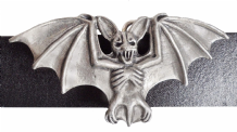 Vampire Bat Pewter Belt Buckle - BB1238